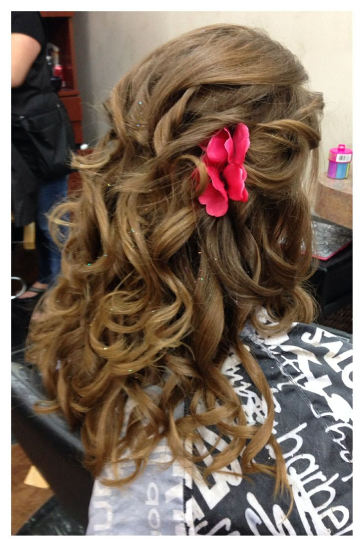 Formal hairstyle by Heather West @ Euphoria Salon and Spa
