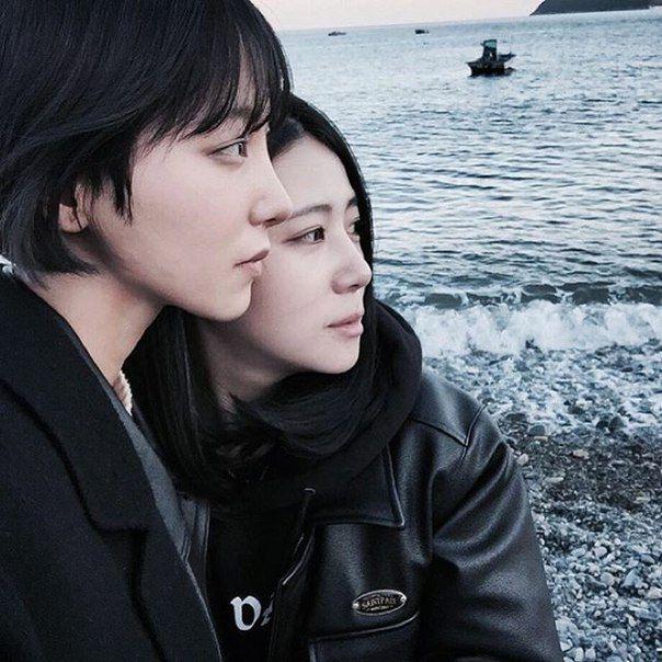 54 Best Lesbian Asian Images On Pinterest  Korean Couple -3921