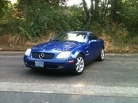 My first summer with my new (to me) Mercedes Benz SLK 230 Kompressor  Turbo charged bliss!!! 2012
