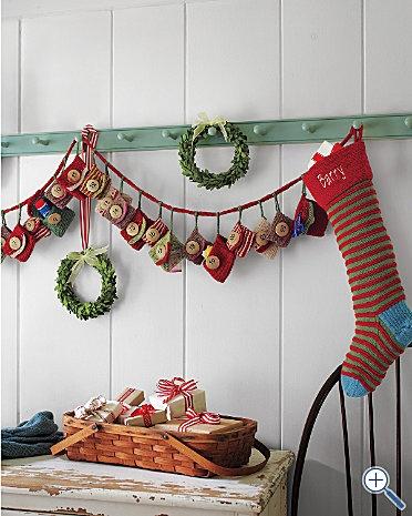 knit advent calendar