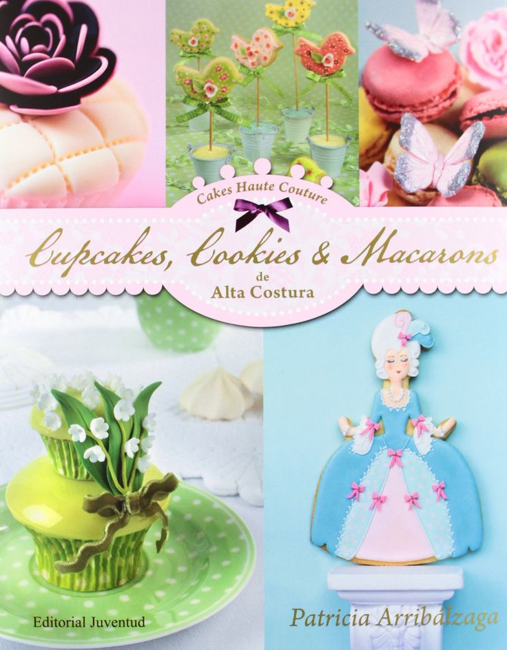 Cake Decorating Books In Spanish : 25 best images about Cookie Books on Pinterest Party ...