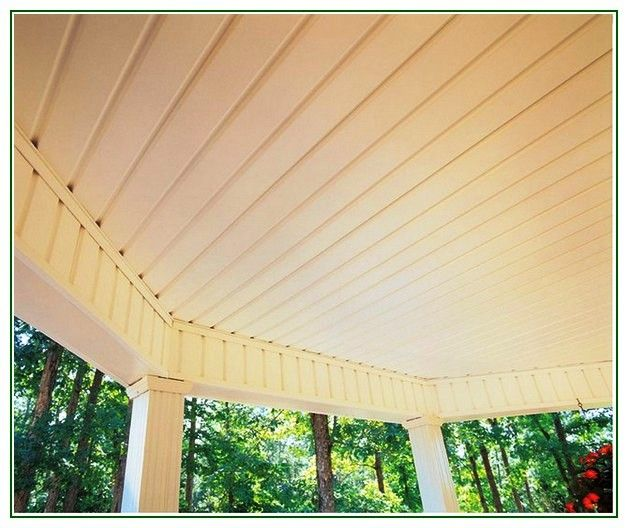 Pin by cindy smith on porch ceiling pinterest porch ceiling porch and vinyl beadboard for Exterior beadboard porch ceiling