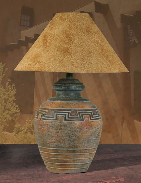 Southwest Table Lamp H-6078-WD - 373 Best Art Lamps And Shades Images On Pinterest Southwest