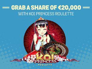 SPIN AND WIN CASINO - KOI PRINCESS ROULETTE - UK Casino List