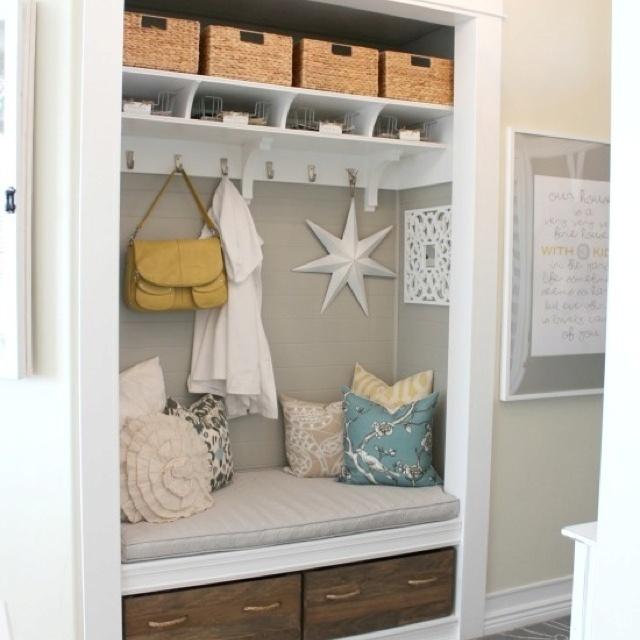 Under-stairs   cupboard idea