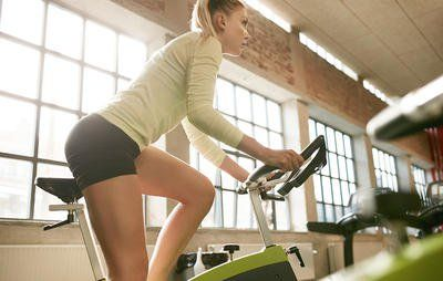Try the metabolism-blasting Flywheel workout you can do on any stationary bike.