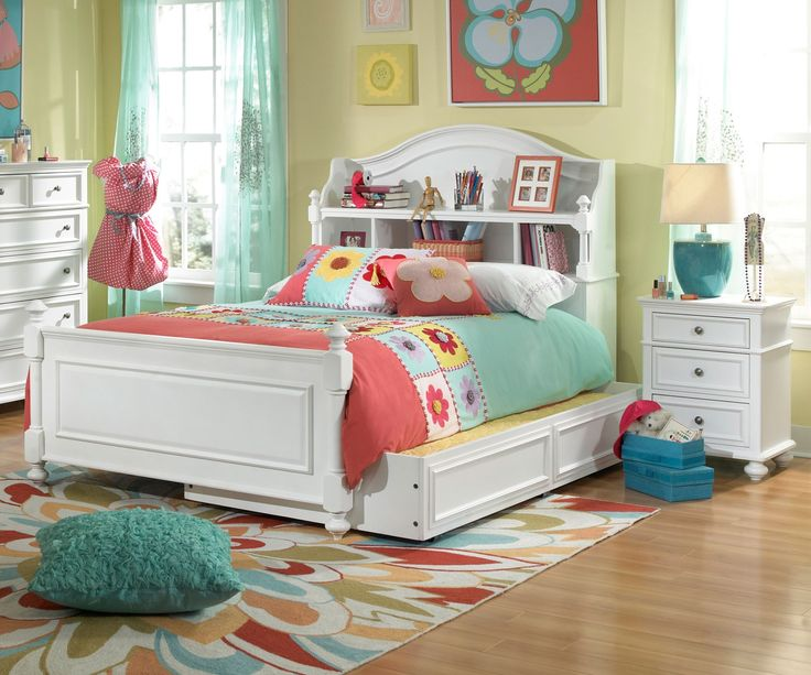 Legacy Classic Kids Furniture Madison Bookcase Bed Full Size 2830-4804K