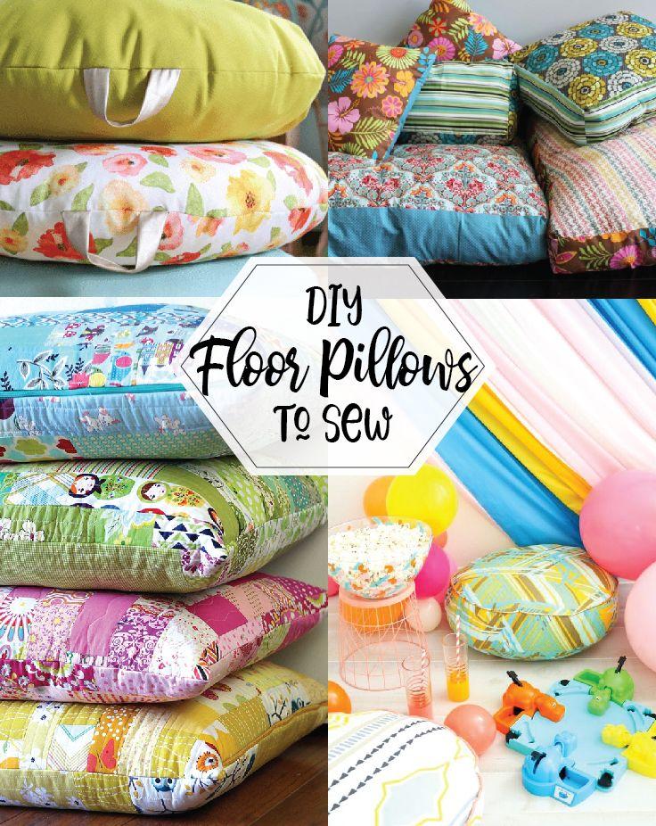 Diy Floor Pillows To Sew Floor Pillows Kids Floor Pillows Diy