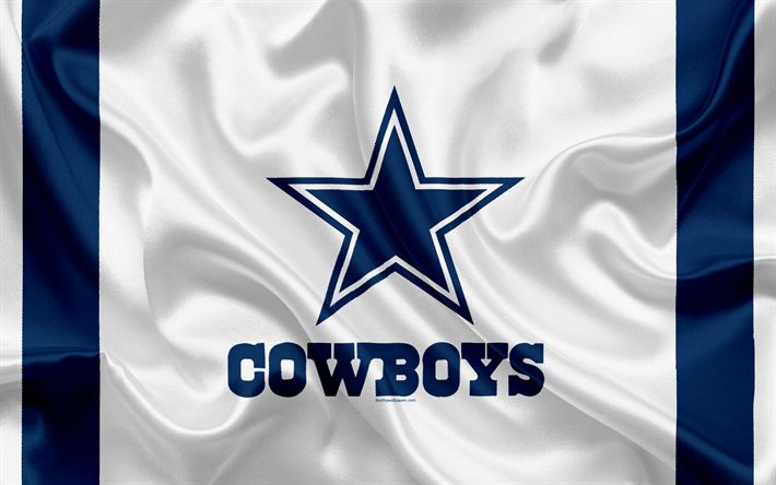 Herunterladen hintergrundbild dallas cowboys, american football, logo, emblem, nfl, national football league, arlington, texas, national football conference