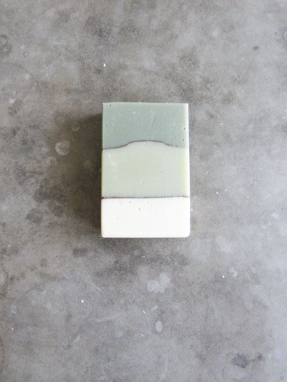 Handmade Sage & Peppermint Soap with French Green Clay   A beautiful bar of…