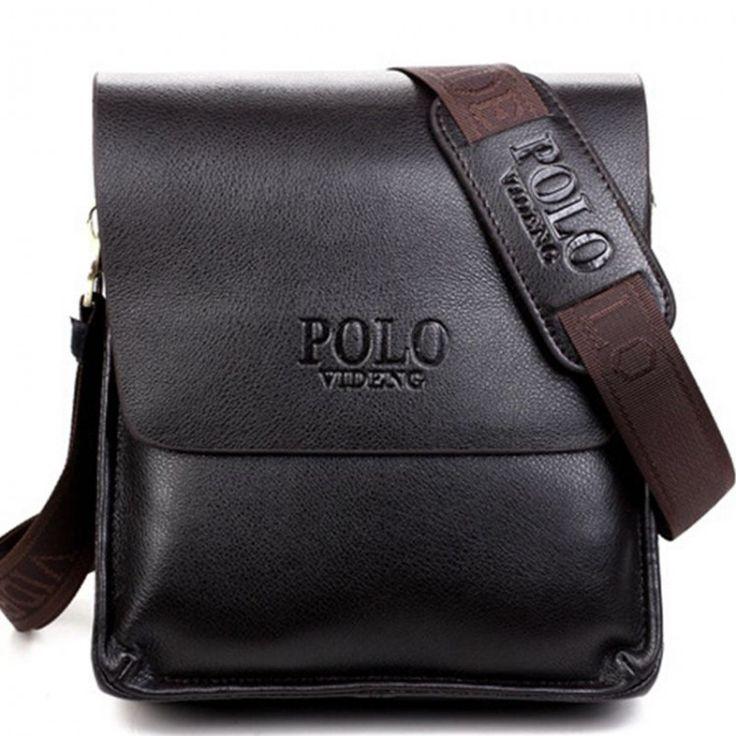 2017 Fashion  New Arrived pu leather men bag fashion men messenger bag cross-body bussiness shoulder bag  free shipping LD3Leather Bags