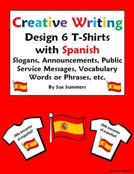 creative writing in spanish Spanish creative writing with stem changing verbs eie verbos presente español let's get creative students write a fun short story in spanish based on one of two.