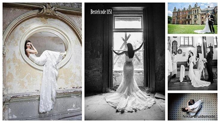 Pronovias code 1151 incl kanten boventop | Bruidsjurken met Romantisch Kant | Nikita Bruidsmode Tweedehands -outlet- Budget en Nieuwe trouwjurken!