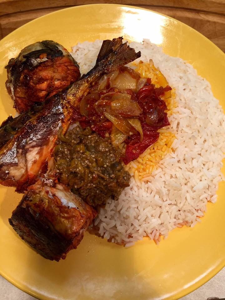 93 best liberian food images on pinterest african for What is the best oil to fry fish in