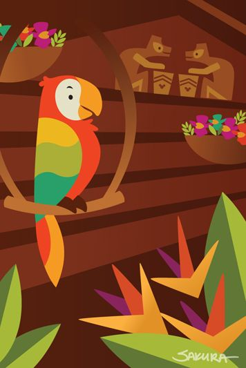 114 best images about the enchanted tiki room on pinterest