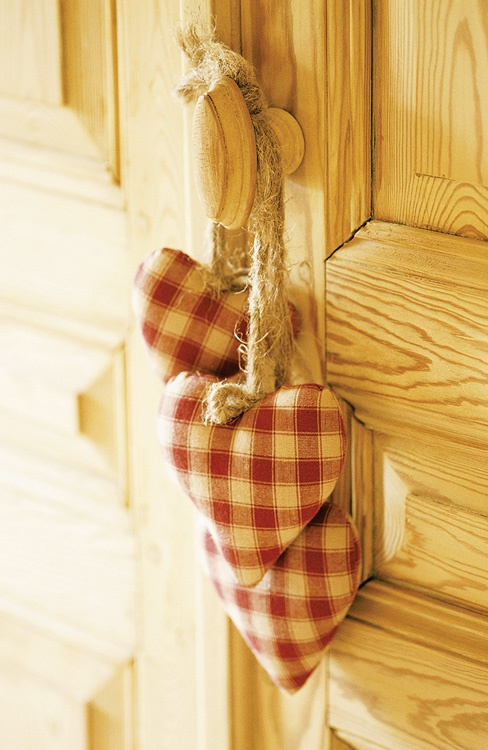 Red checked gingham is really great fora rustic country look...perfect for a cabin  or country living...