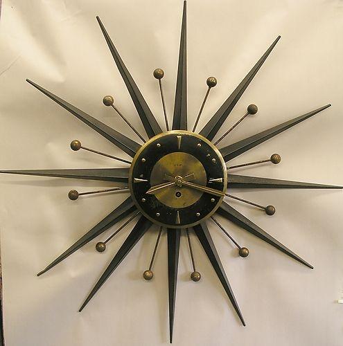 Les 1625 meilleures images du tableau clocks sur pinterest for Horloge eames
