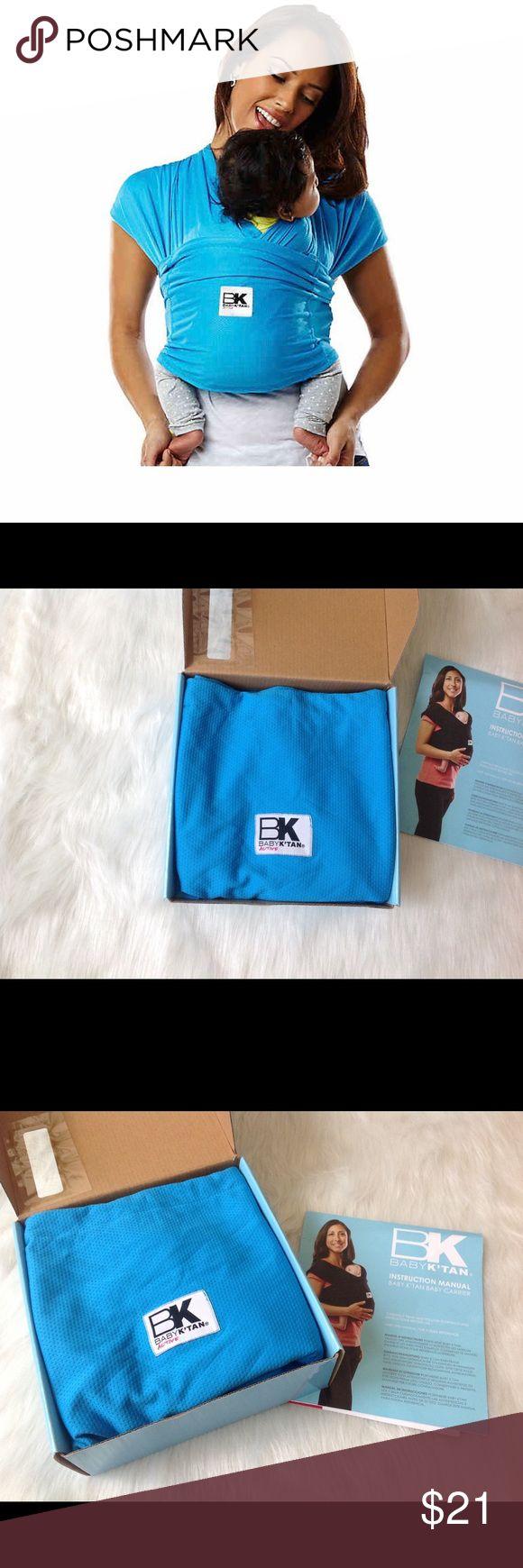 BABY K'TAN WRAP Ocean blue color Brand: Baby K'Tan The ...