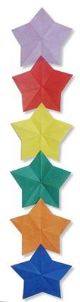 Origami Star Ornament1