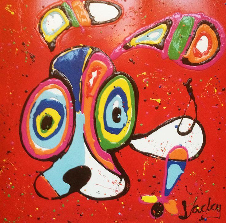 Jacky - Hond rood