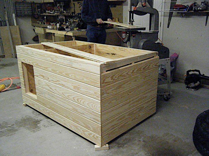 Dog House Plans DIY -