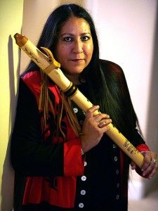 "Mary Youngblood (raised as Mary Edwards) is a Northern California Native American flutist. She is half Aleut, and half Seminole. Youngblood was born in Sacramento, California. She has been awarded three Native American Music Awards, being the first woman to win ""Flutist of the Year,"" which she won in both 1999 and 2000, as well as winning ""Best Female Artist"" in 2000."