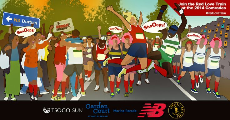 The Red Love is set to take this year's Comrades Marathon by a storm of Red Socks!
