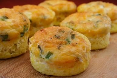 Egg muffins = zero carbs lots of protein. Healthy breakfast for on the go!