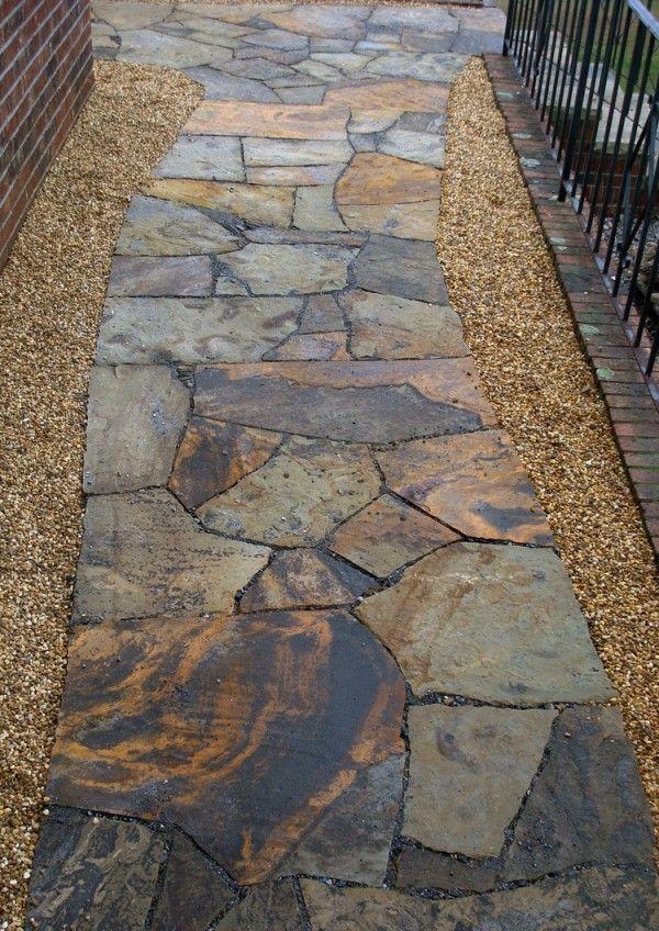 Flagstone Paths & Patios | Hammerhead StoneworksHammerhead Stoneworks