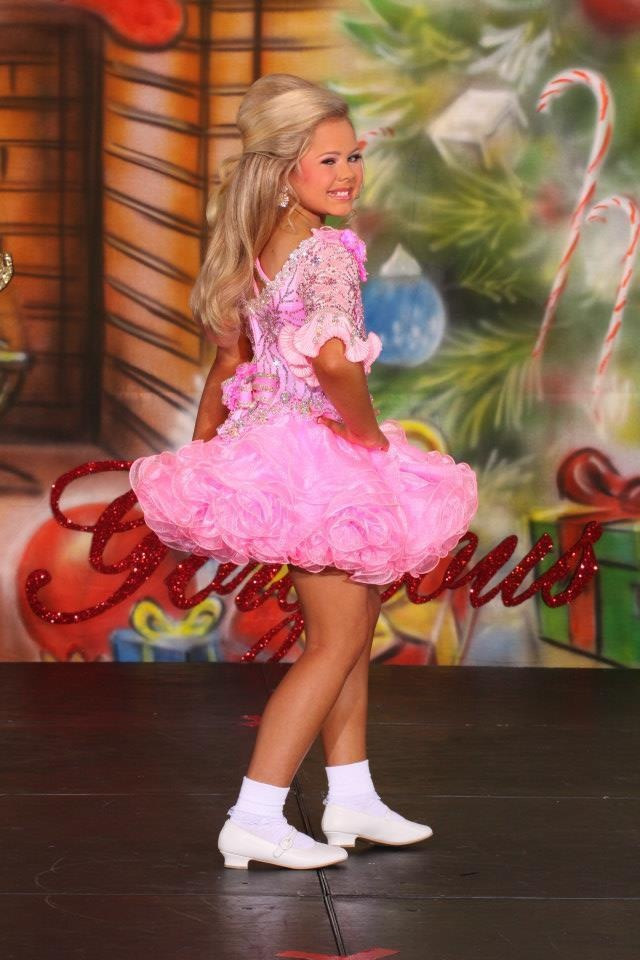 National Glitz Pageant Dress Size 7 9 Custom Made By Cris