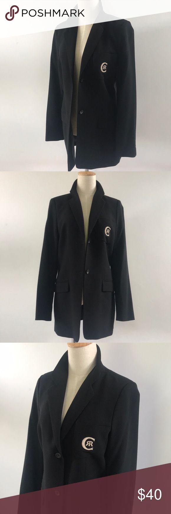 Vintage monogrammed wool blazer 100 percent virgin wool excellent vintage condition double button blazer Cerruti 1881 Jackets & Coats Blazers
