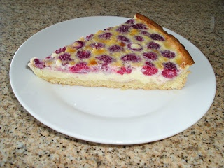 Kuchen de frambuesa (receta alemana)