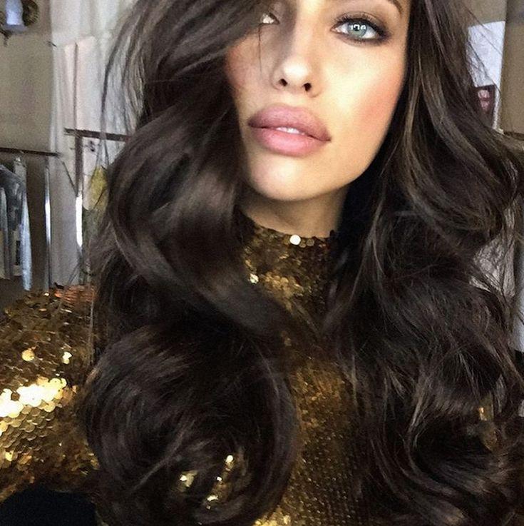 Irina Shayk Bombshell Curls; THE BEST MANE MOMENTS FROM INSTAGRAM THIS WEEK