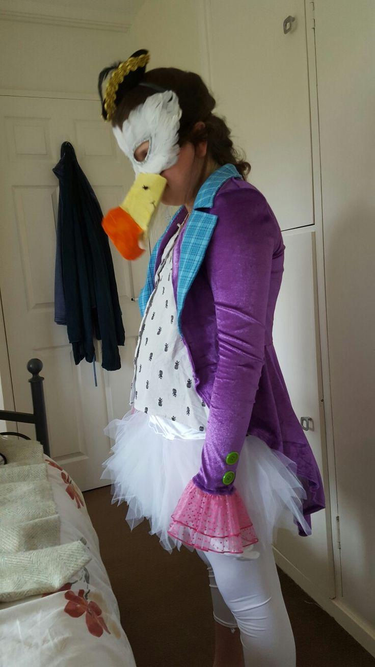 The dodo costume for Alice in wonderland                                                                                                                                                                                 More