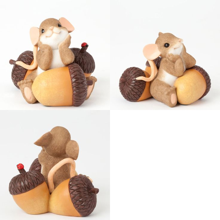 Charming Tails Autumn Harvest and Thanksgiving Figurines