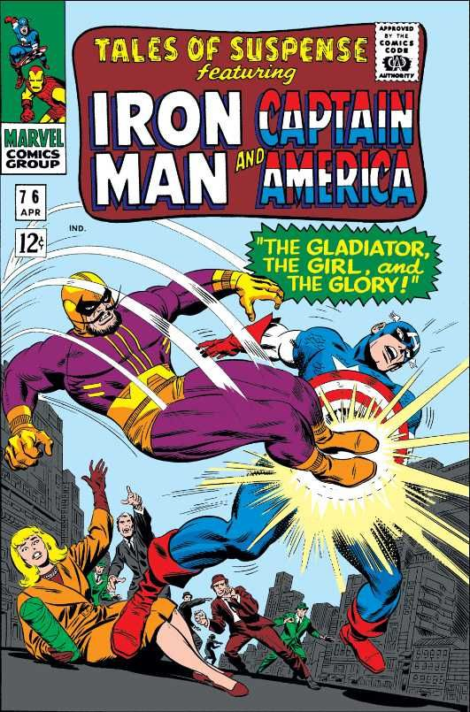 Tales of Suspense #76 - Here Lies Hidden the Unspeakable Ultimo / The Gladiator, the Girl, and the Glory (Issue)
