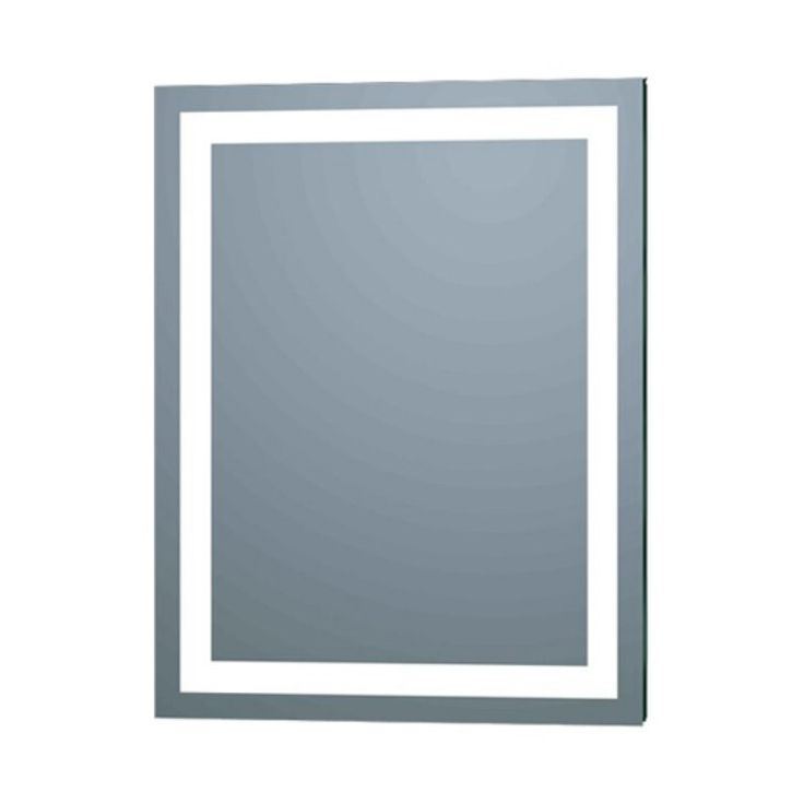 Web Image Gallery Afina Illume LED Backlit Rectangular Bathroom Mirror ILR