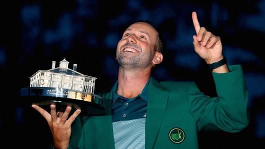 The wait is over for Sergio Garcia. He not only won the 2017 Master's tournament but also his first career major. This year's Master's was Garcia's 74th career major. A