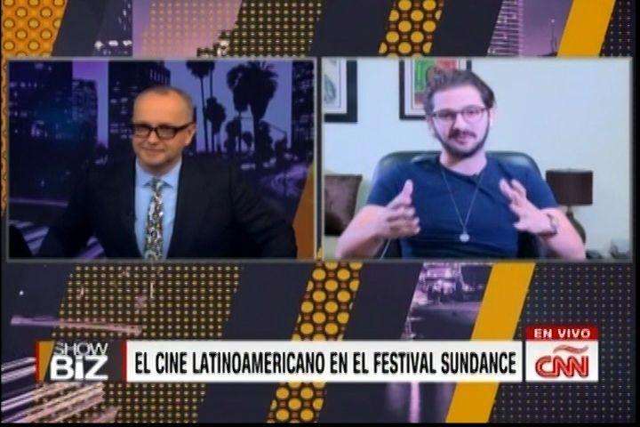 """Entrevista Al Cineasta Dominicano José Maria Cabral En Showbiz De CNN, Su Película """"Carpintero"""" Participará En El Festival SUNDANCE"""