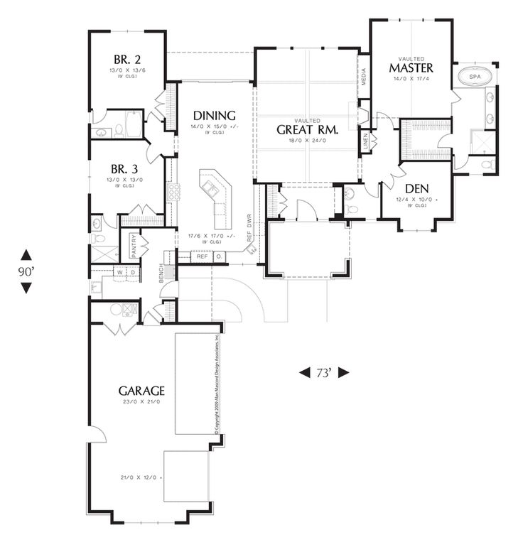 Mascord House Plan 1239 Traditional Mud Rooms And Home