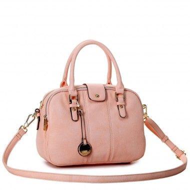 Bolsa Macadamia MCF09016 16B Rosa - Bolsas Femininas