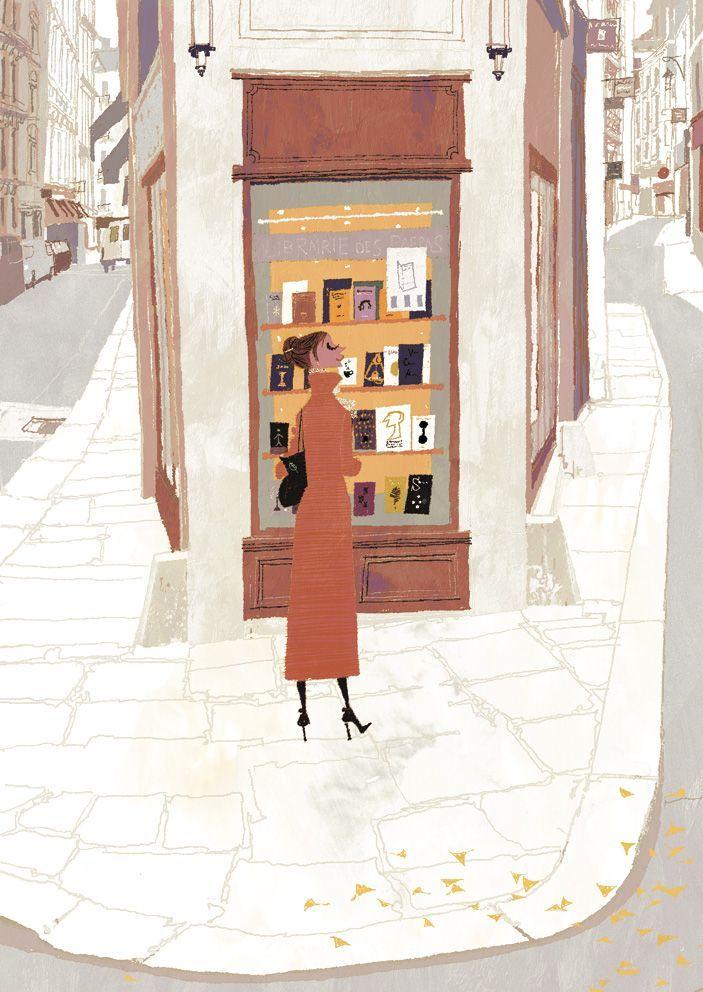 Sapere di essere in anticipo per un appuntamento e trovare una libreria aperta lungo la strada...#pericolo