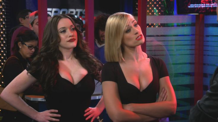 Kat Dennings - 2 Broke Girls S05 E11 And The Booth Babes -2406
