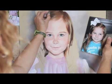 Pastel portrait process