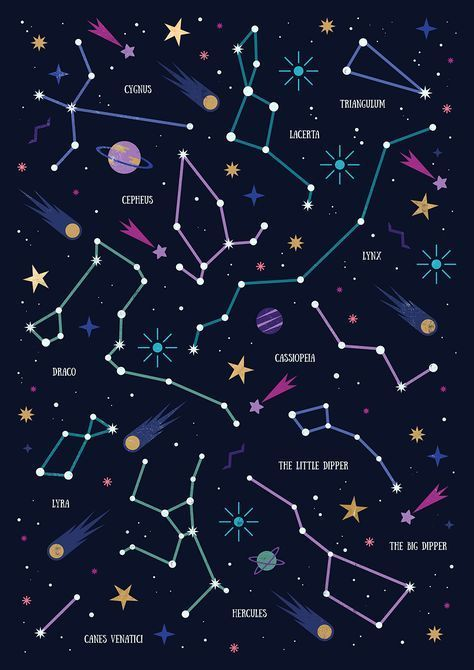 Se você souber enxergar, verá significados em constelações. DC