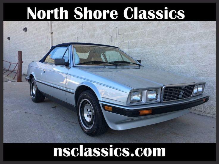 Used 1987 Maserati Biturbo -SPYDER-ZAGATO- CONVERTIBLE | Mundelein, IL