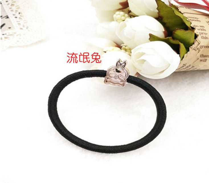 1babdf9c1aa26 Popular Elastic Rope Ring Hairband Women Hair Band Ponytail Holder 9   fashion  clothing