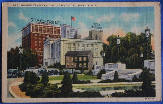 Trenton Art Fair 2020.Masonic Temple Stacy Trent Hotel Trenton New Jersey Nj Linen