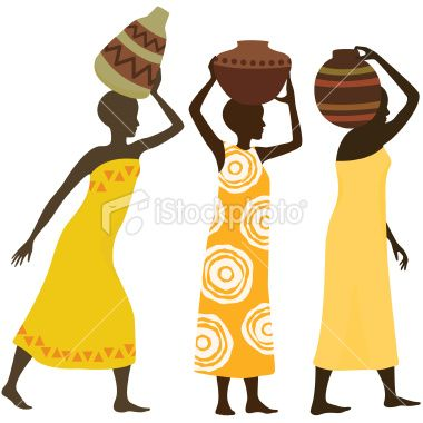 Wall Art: Beautiful African Women