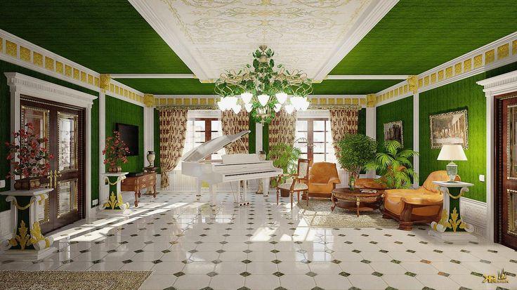 Гостиная http://paevskiydesign.ru/gallery/спальни-гостинные-16-25-м2/